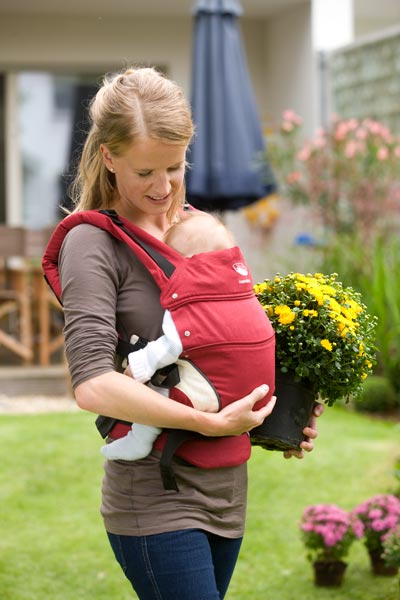 Manduca Colour Red Newstyle Baby Carrier From Wickelkinder