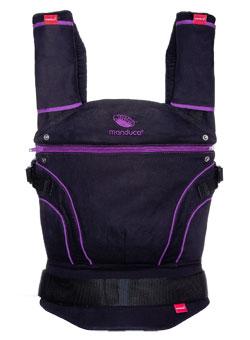 Manduca Blackline Lovinlilac Baby Carrier In Great Purple