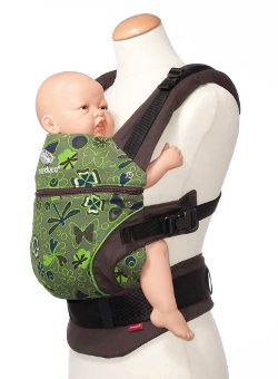 Manduca baby carrier paradise green