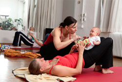 Mother and baby fitness